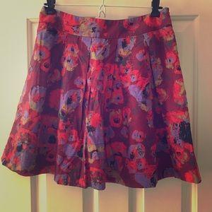 Pleated Hinge Skirt